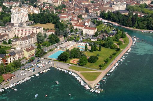 Competition The Marquisats Water sports Center in Annecy