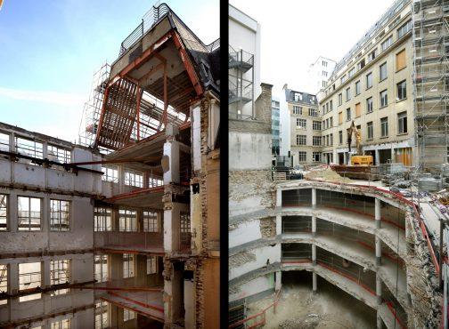 Office building Rue de Madrid