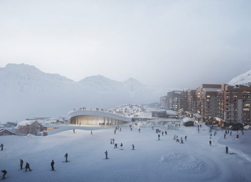 Sports and Leisure Center Val Thorens, France