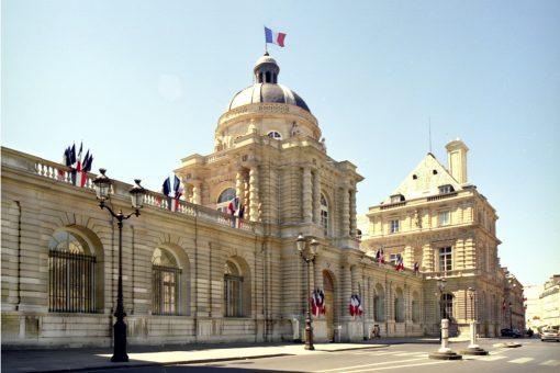 French Senate's new public reception areas, Paris