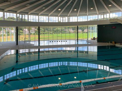 Community swimming pool, Western France