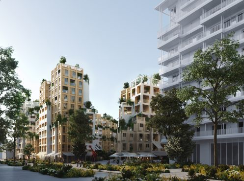 Nouvel écoquartier Place Léon Blum Lots A3 et A4 Issy-les-Moulineaux