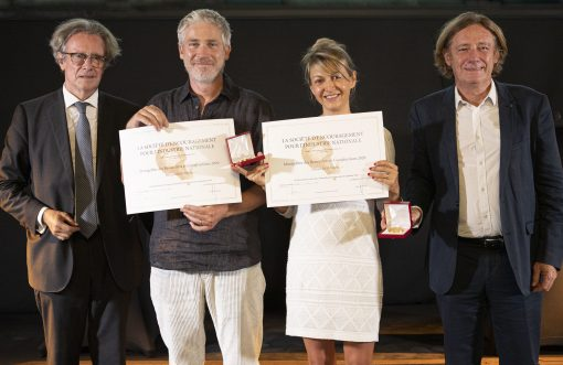 Award ceremony for the 2020 Montgolfier Prizes