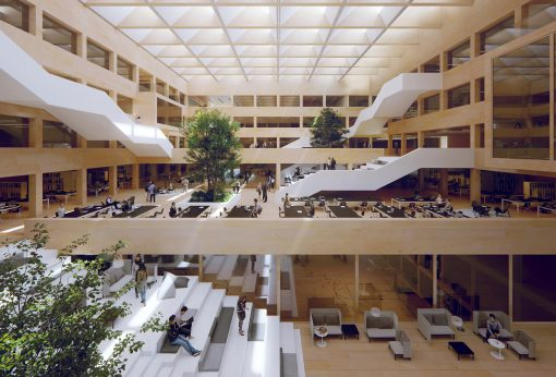 University campus, Switzerland